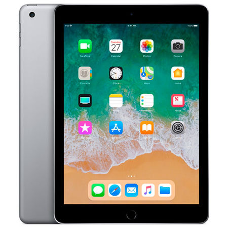 Планшет Apple iPad (2018) 32GB Wi-Fi Space Grey (MR7F2RU/A) в Юлмарт