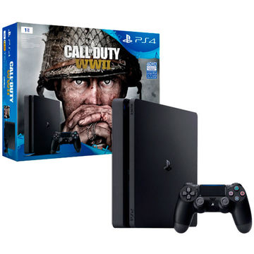 Игровая консоль PlayStation 4 1TB Call of Duty:WW II в Юлмарт